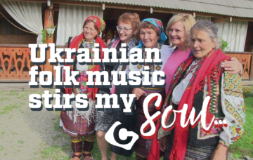 There is something about Ukrainian folk music that stirs my soul…