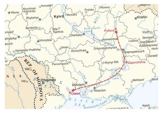 map - Feel the true Kozak spirit!