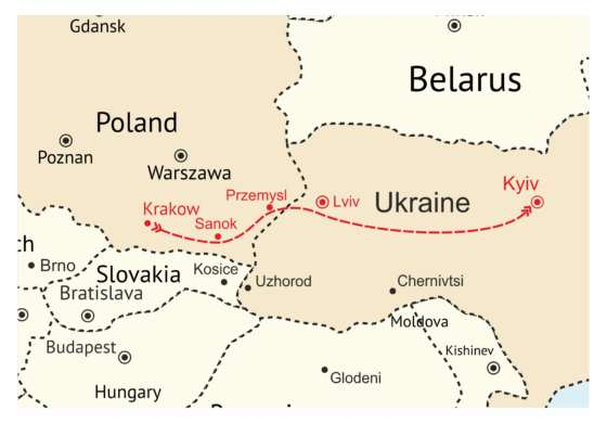 map - Discover more of these 2 beautiful countries!