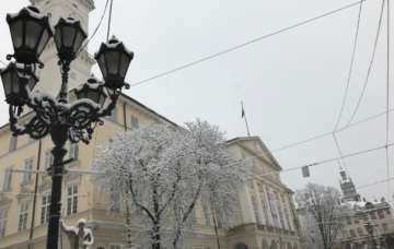 December in Lviv ! It's like something out of a movie…