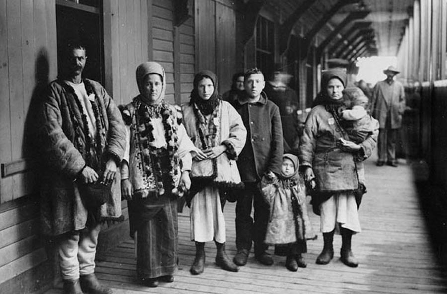 Immigrants to Canada from Ukraine