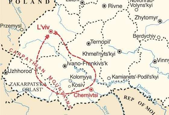 map - Experience the unique and ancient traditions of Malanka!