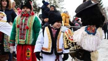 Malanka in Ukraine