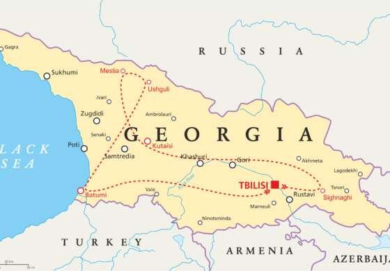 map - Georgia's Best Places For Adventurous Souls