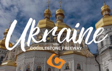 Ukraine with Cobblestone Freeway