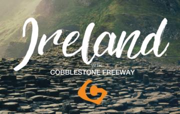 Ireland with Cobblestone Freeway