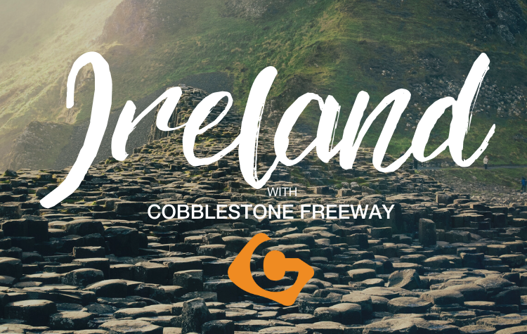 Ireland with Cobblestone Freeway