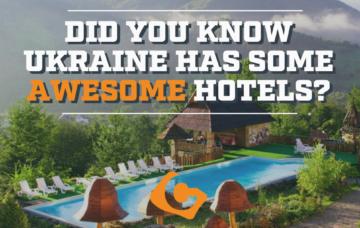 Ukraine's Awesome Hotels