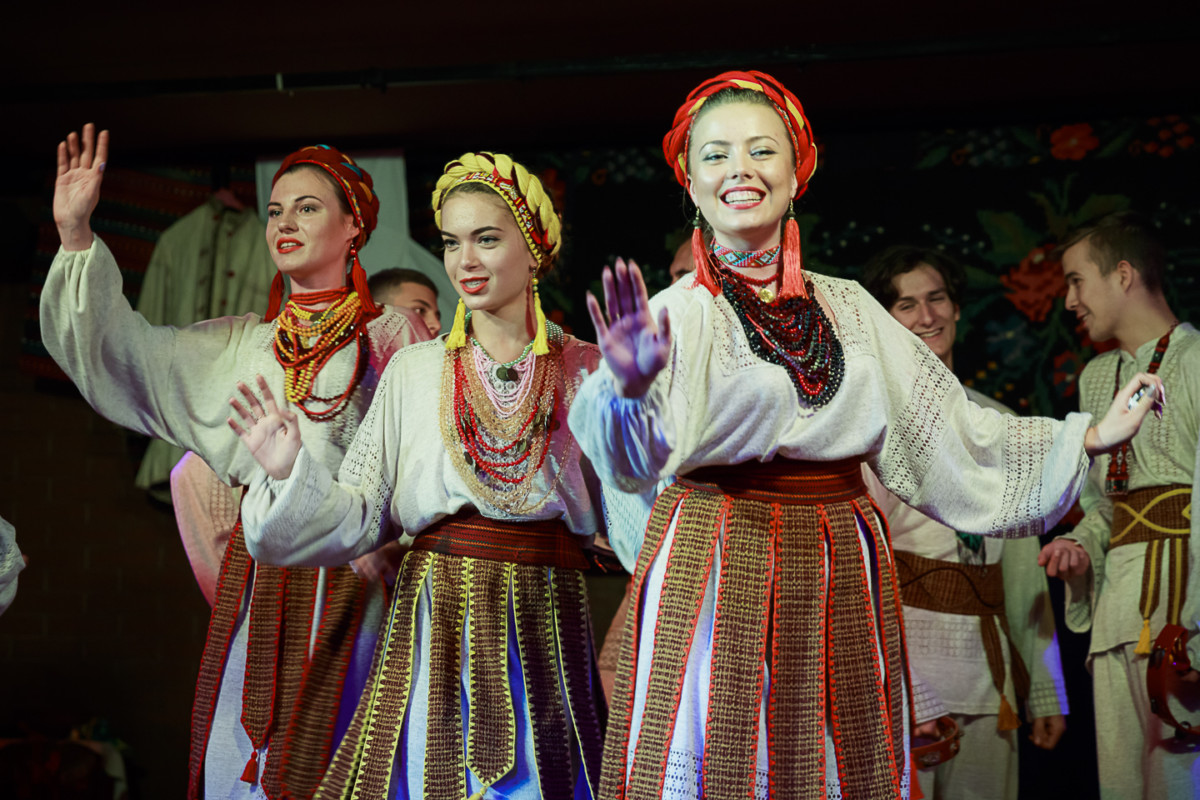 Gerdan Ensemble performing a variety of Ukrainian songs and dance.