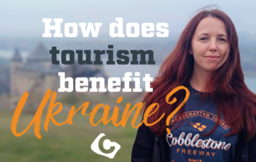How does tourism benefit Ukraine?
