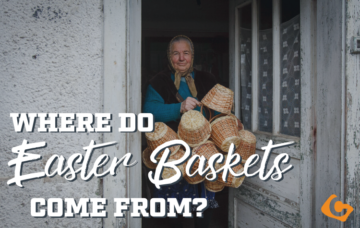 Where do Easter Baskets come from?