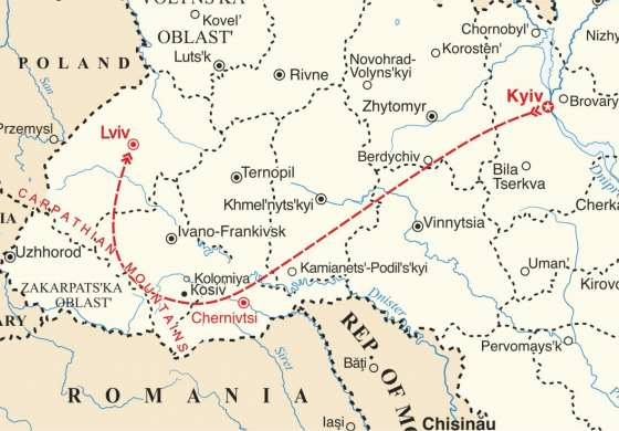 map - See the very best of Ukraine.
