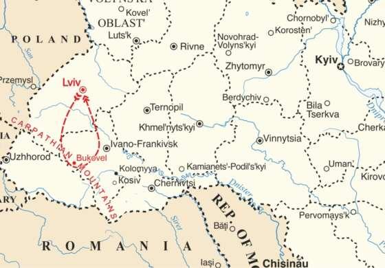 map - Ski on the Biggest Ski Resort in Eastern Europe