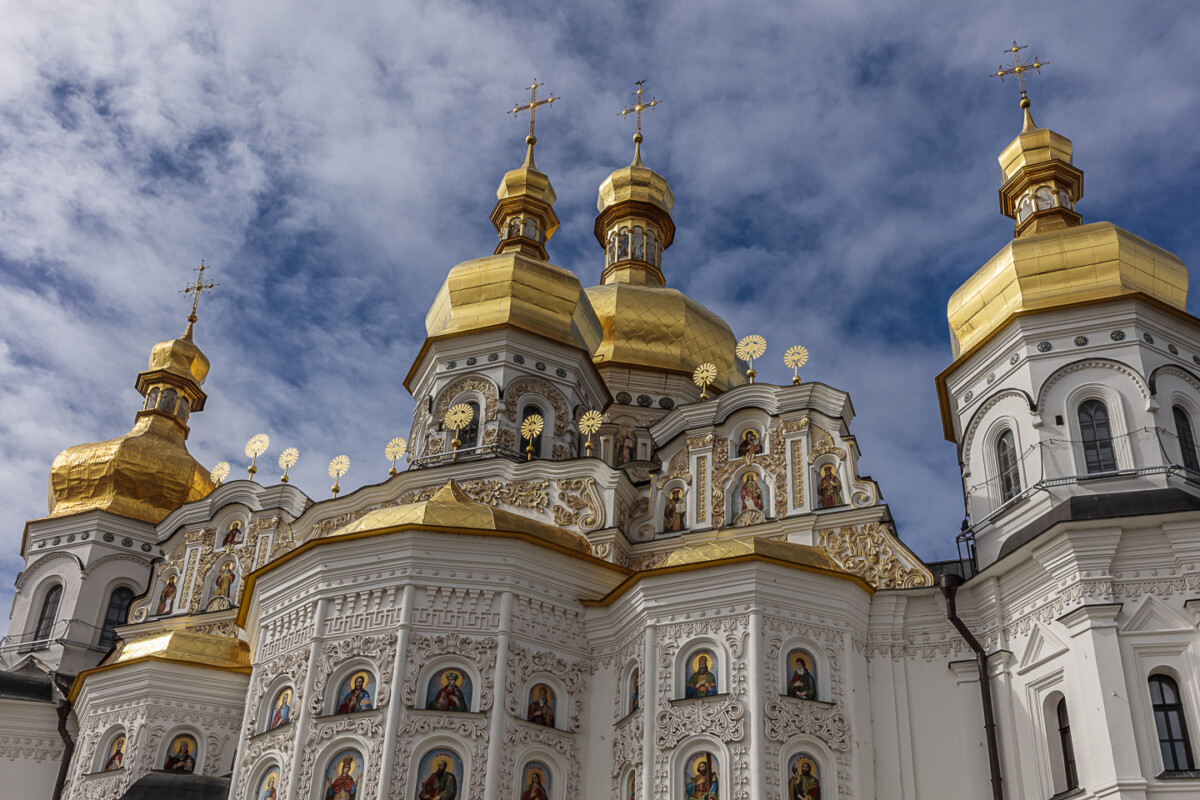 Kiev Pechersk Lavra or Kyiv Pechersk Lavra, also known as the Kiev Monastery of the Caves, is a historic Orthodox Christian monastery which gave its name to one of the city districts where it is located in Kiev.