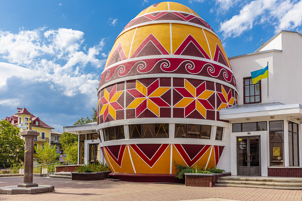 The Pysanka Museum in Kolomyia, Uraine is the only museum in the world dedicated to the pysanka, and it has become a calling card of the city.