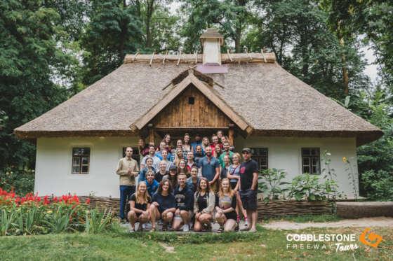 KANIV_VILLAGE_HOUSE_GROUP_TRAVELLERS_DANCE_KANIV_UKRAINE_CENTRAL